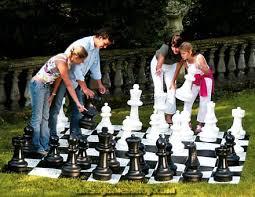 garden chess set. Basic Garden Chessmen | Pieces Chess Set