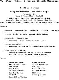 beginner makeup artist resume sle objective on good captures including