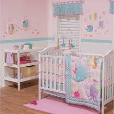 sea sweeties 3 piece baby crib bedding set by belle