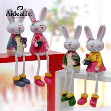 Rabbit Decorative Accessories decorative rabbits miniature fairy figurines home decoration 3