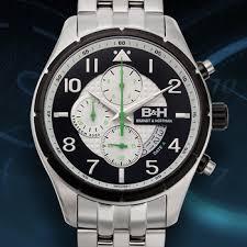 online watch auctions men s watches propertyroom com brandt hoffman swiss chronograph sagan mens watch