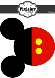 Mickey Mouse Head Outline Vector (Page 1) - Line.17QQ.com