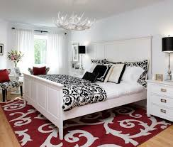 Red Black And White Bedroom Paint Ideas Bedroom Inside White Paint Orating  For Ideas Designs Schemes