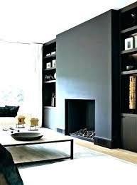 modern glass fireplace screen ideas brick