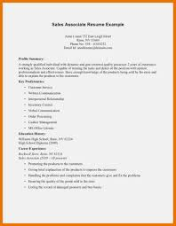 9 10 Resume Samples For Retail Sales Associate