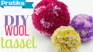 How To Make Fluffy Decoration Balls How to Make a Pompom or a Christmas Ball with Yarn YouTube 48