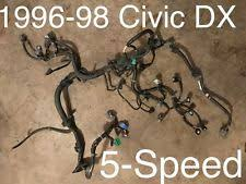 civic engine harness 1998 honda civic dx engine wire harness 5 speed manual uncut 96 97 98 1997