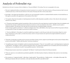 how is the separation of powers between the thr com 7 how does madison repeat and complete the argument in federalist 10