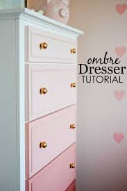 DIY Ombre Dresser Tutorial | Diy ombre, Project nursery and Ombre