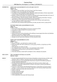 Medicare Sales Representative Resume Sample Samples Velvet Jobs