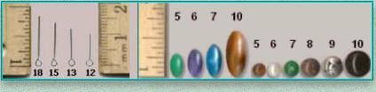 Rosary Makers Guide Bead Shapes Sizes