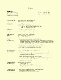 Example Resume For Teachers Best of Sample Resume For Teacher Without Teaching Experience New Faculty
