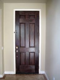 painted residential front doors. AFTER: The Finished Inside Of Front Door. Painted Residential Doors A