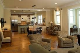 Kitchen And Living Room Flooring Open Kitchen Designs Country Living Room Carameloffers