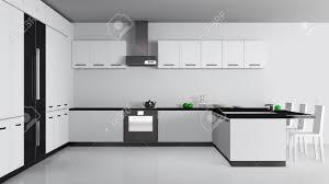 The Modern Kitchen Interior Design Stock Photo Shutterstock Modern Kitchen Interior