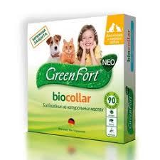 <b>GreenFort NEO БиоОшейник</b> для кошек и мелких собак , от ...