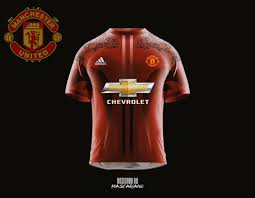 manchester united 2017 2018 concept kit by mascariano on