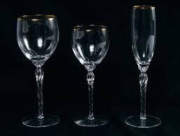 crystal glasses classics grand wine lenox stemless waterford elegance