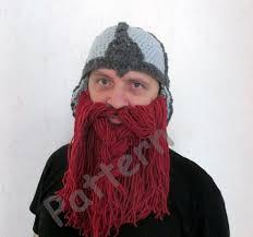 Beard Hat Crochet Pattern Mesmerizing Crochet Viking Hat Pattern Crochet Beard Hat Pattern Adult Etsy