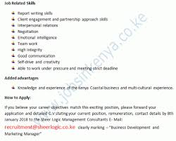 2018 Jobs Vacancy Bakery Business Development And Marketing