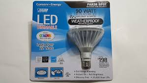 Feit Electric Par38 Dimmable Led Light Bulb Buy Feit Electric Commercial Grade Outdoor Weatherproof