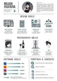 Infographics Cv Generator 30 Examples Of Creative Graphic Design