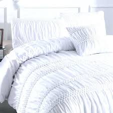 luxury white grey princess ruched duvet cover set pinch pleat 3 queen size bedclothes bedding sets luxury duvet cover set white black grey