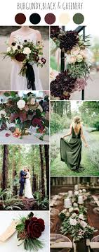 Chic Dark And Moody Fall Wedding Ideas And Colors