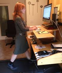 diy treadmill desk standing