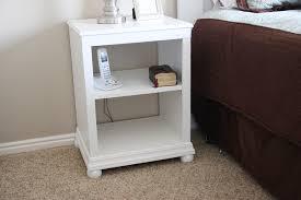 open shelf nightstand.  Nightstand Katie Nightstand Open Shelf And I