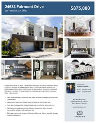 Home Flyers Template Custom Real Estate Flyers Free Templates Zillow Premier