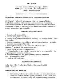 Video Production Resume Examples Hvac Cover Letter Sample Hvac