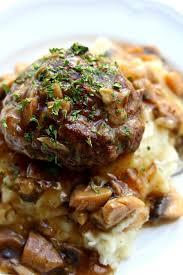 instant pot salisbury steak gravy and