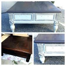 painted coffee table table painting coffee table black ed s a spray paint white