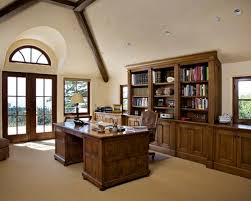 Law office interior 400 Square Foot Office Inspiration For Timeless Freestanding Desk Carpeted Home Office Remodel In Other With Beige Walls Design Ideas Law Office Interior Design