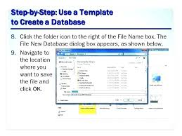 Simple Access Database Template
