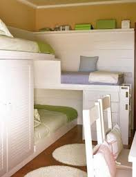 Startling Space Saving Bunk Beds For Small Rooms Stylish Petite Wooden  Frame Daybed Which Doubles Guest