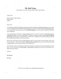 Cover Letters Templates Microsoft Word Letter Format Free