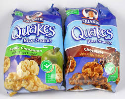 quaker popped rice snacks 18 mini cakes 4 smartpoints flavors vary