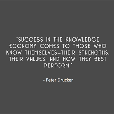 Quotes + Thoughts | Drucker on the key to making it in the ... via Relatably.com