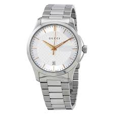 gucci 126 4. gucci g-timeless silver dial stainless steel unisex watch 126 4 -