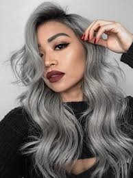 13 Grey Hair Color Ideas To