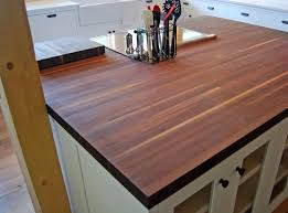 center island counter top cannon family fallen walnut tree