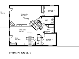 2 bedroom 2 bath house plans with basement. shaker style home plans | house with daylight basement rancher 2 bedroom bath