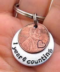 anniversary gift personalized keychain by fireduplashammer