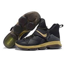 lebron shoes 2017. nike lebron james 14 shoes 2017 black gold