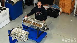 that crazy 5000 hp quad turbo 12 3 liter v16 is so much more steve morris the v16 engine he custom built for the devel sixteen