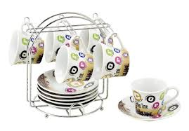 Decorative Cup And Saucer Holders Coffee Cup Sets With Stand Wayfair 24