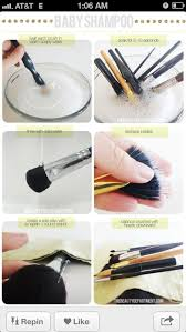 your makeup brushes naturally clean makeup brush home home remedy