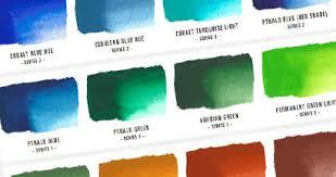 Atelier Acrylic Colour Chart Color Charts Atelier Acrylic